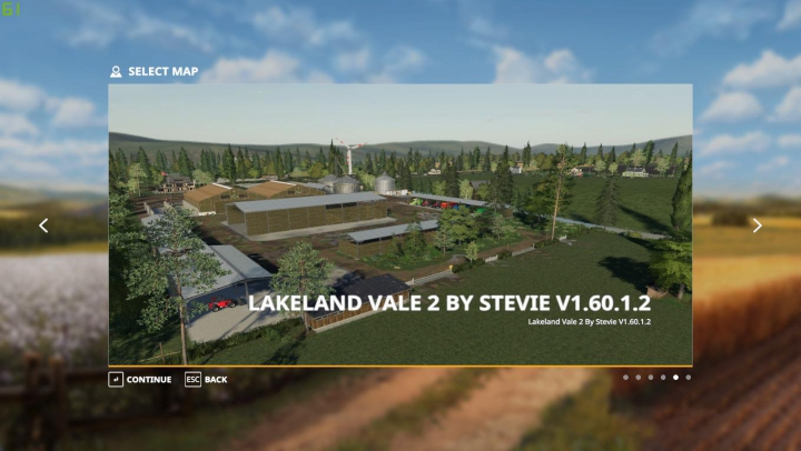Lakeland Vale 2 by Stevie category: Maps