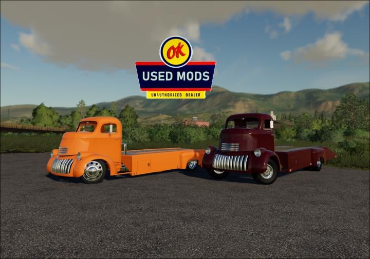 Trending mods today: 1941 Chevy COE Car Hauler V1 -  By OKUSEDMODS