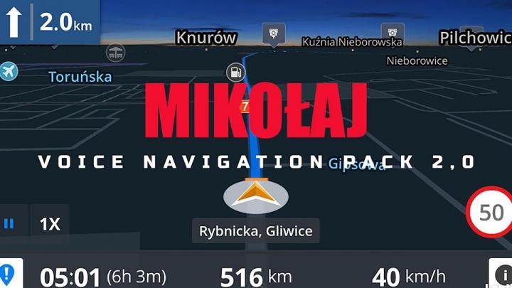 Mikolaj Voice Navigation Pack v2.0 category: Sounds