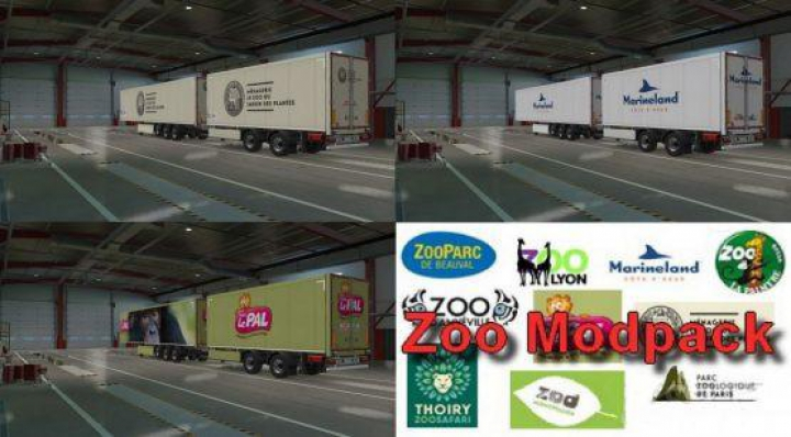 Trending mods today: Zoo Trailers Pack v1.0 1.37.x