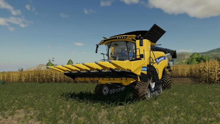 New Holland 980 CF6 v1.0.0.0 category: Combines