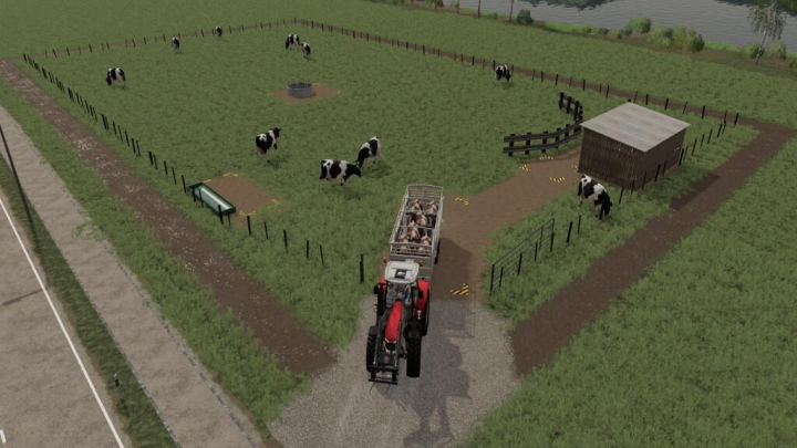 Trending mods today: Dairy Cow Pasture v1.0.0.0