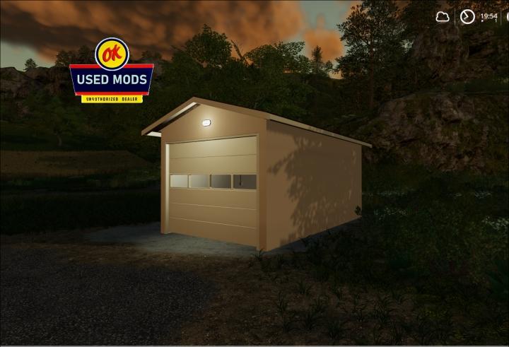 Trending mods today: Single Car Garage Pack V1 - -  By OKUSEDMODS