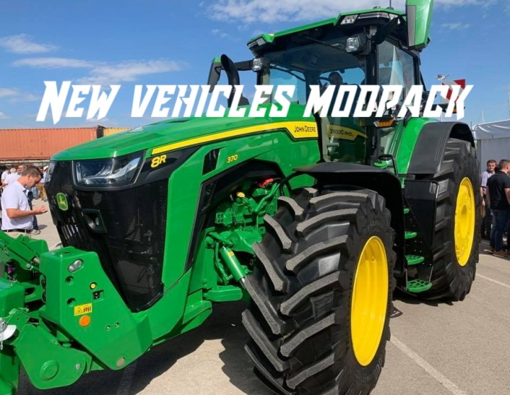 Trending mods today: New Vehicles Modpack