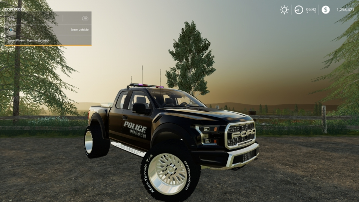 Trending mods today: FS19 Ford Raptor Police Edition