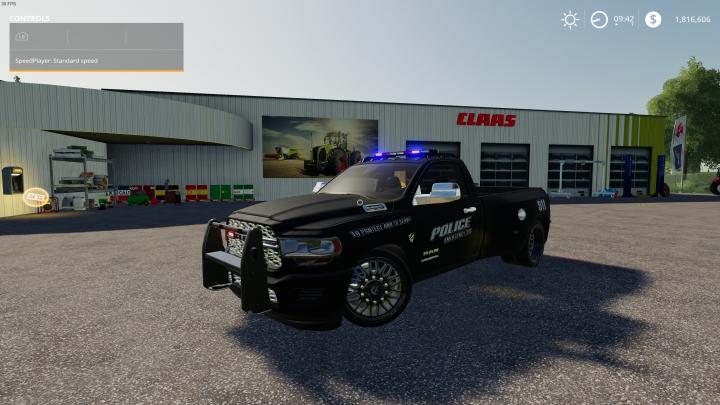 Trending mods today: FS19 Dodge Ram HellTruck Police Edition
