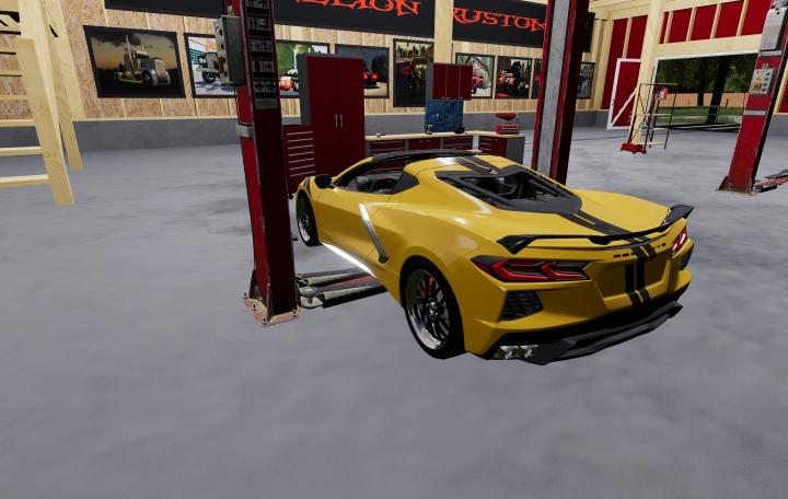 Cars 2020 chevy corvette