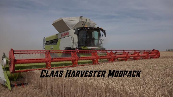 Trending mods today: Claas Harvester modpack