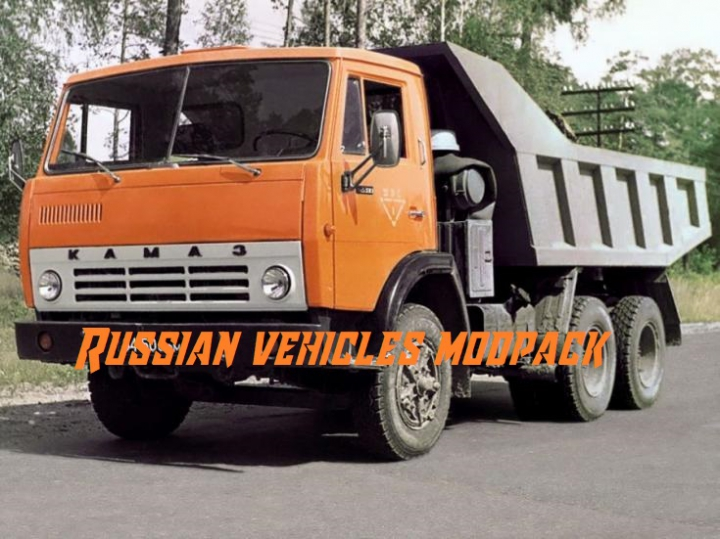 Trending mods today: Russian vehicles modpack