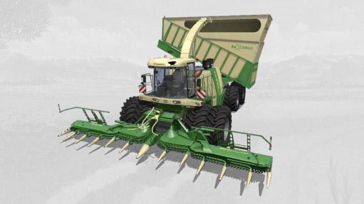 Krone BigX 1180 Cargo v1.2 category: Combines