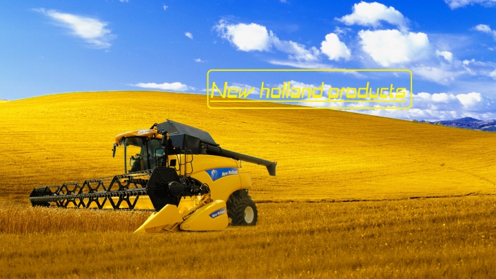 New holland products category: Packs