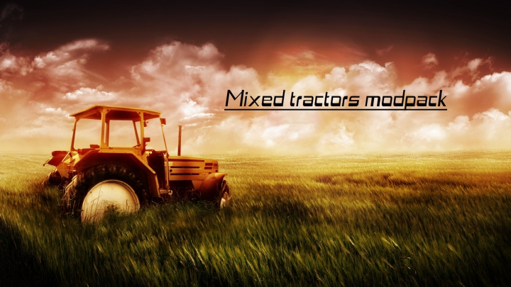 Mixed tractors modpack category: Packs