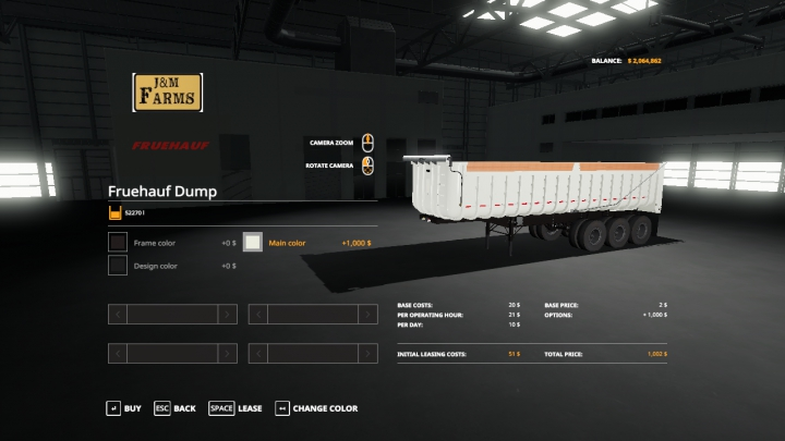 Trending mods today: The Fruehauf Dump Trailer