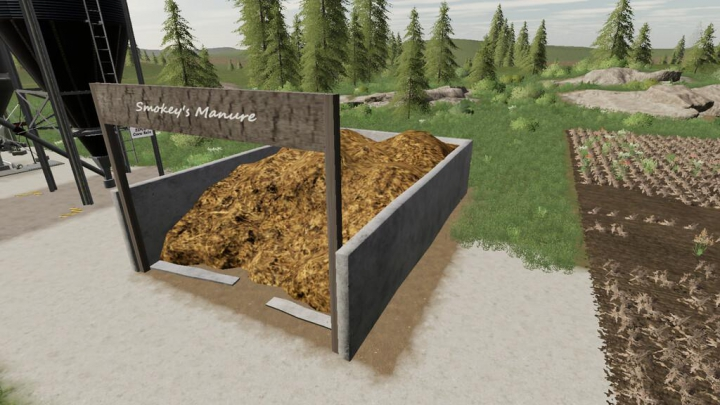 Trending mods today: Manure Sell Point v1.0.0.0