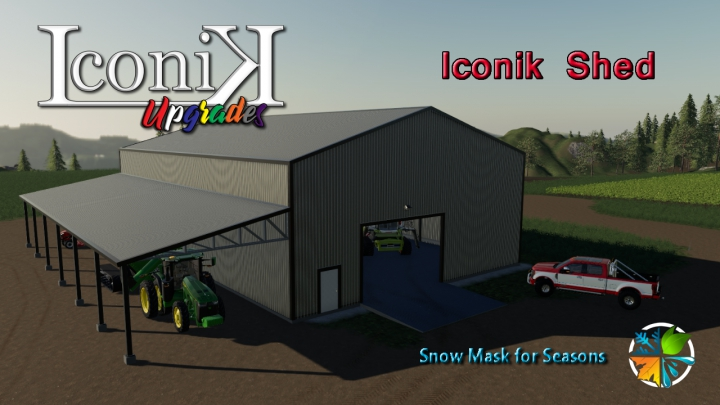 Trending mods today: Iconik Shed