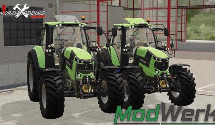 Deutz Fahr Serie 6 v1.0.0.0 category: Tractors