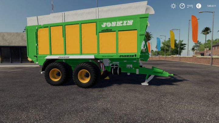 JOSKIN DRAKKAR 6600 v1.0.0.0 category: Trailers