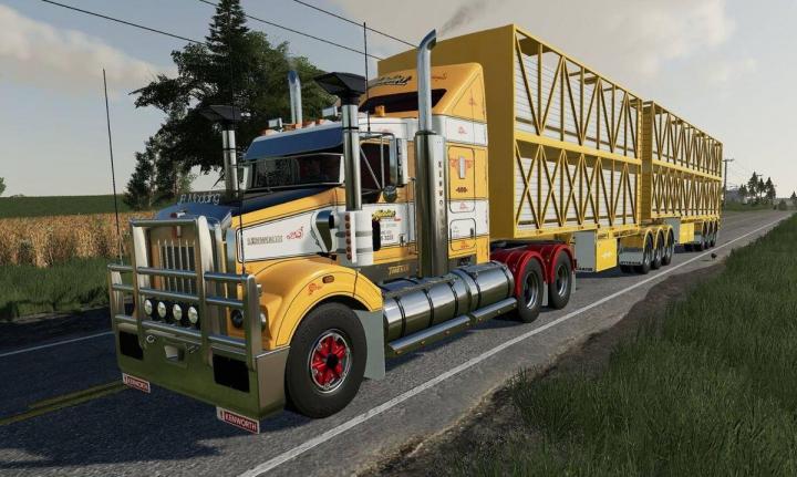 Kenworth T408 SAR v1.0.0.0 category: Trucks