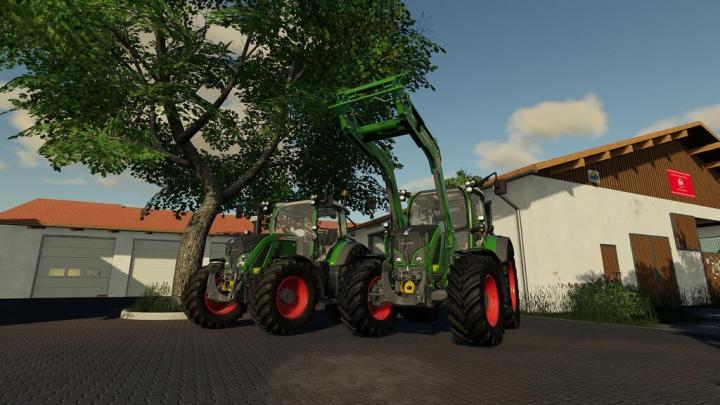Fendt 512-516 Vario S4 v1.1.0.0 category: Tractors