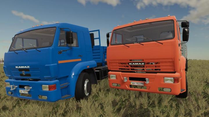 Kamaz 65117 v1.0.0.0 category: Trucks