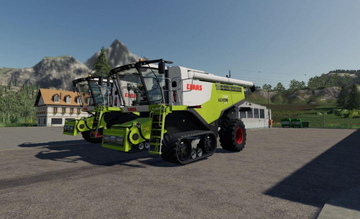 Claas Lexion 750-780 v1.0.0.0 category: Combines