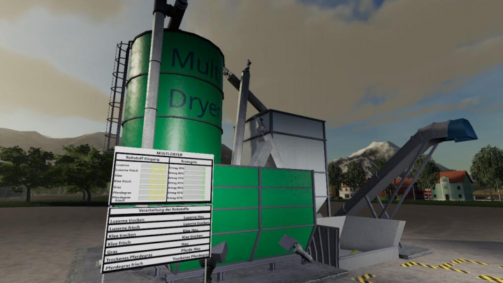 GlobalCompany - Multi Dryer With Horse Forage v1.0.0.0 category: Objects