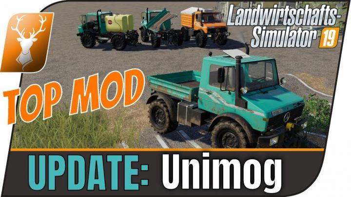 [FBM-Team] Unimog U1200, U1400, U1600 v1.1.0 category: Tractors