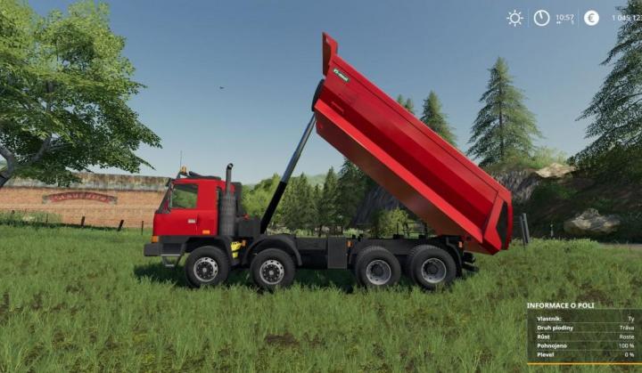 Tatra TerrNo1 8x8 + korba S1 v1.0 category: Trucks