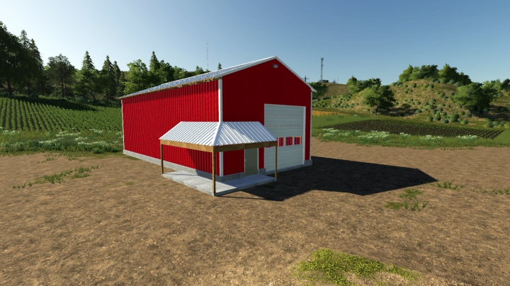 30x60 Work Shed category: Objects