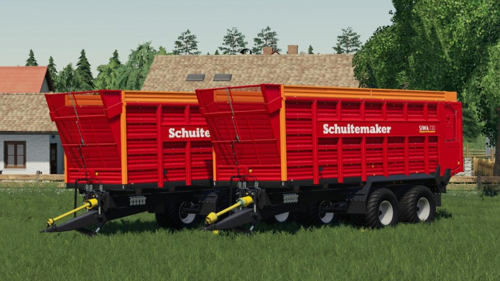 Schuitemaker Siwa 720 v1.0.0.0 category: Trailers