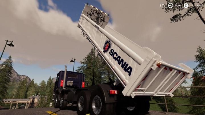 Trending mods today: Scania 8x4 Tipper v2.0.2.0