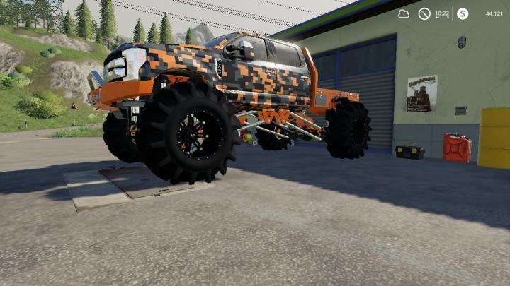 Cars F250 Monster truck v1.0