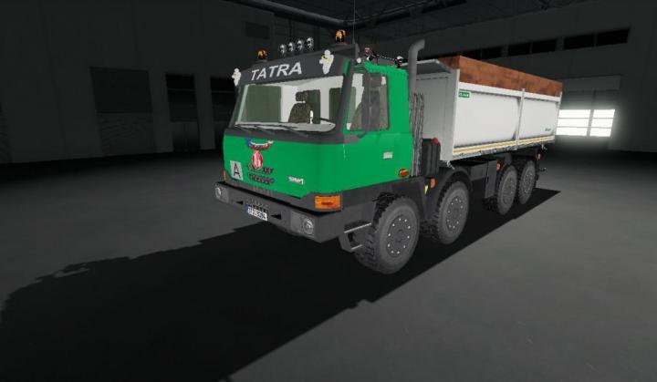 Trending mods today: Tatra Terrno 8x8 v1.0.0.0