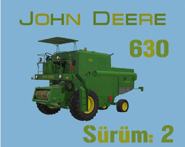 Trending mods today: JOHN DEREE 630 v2.0