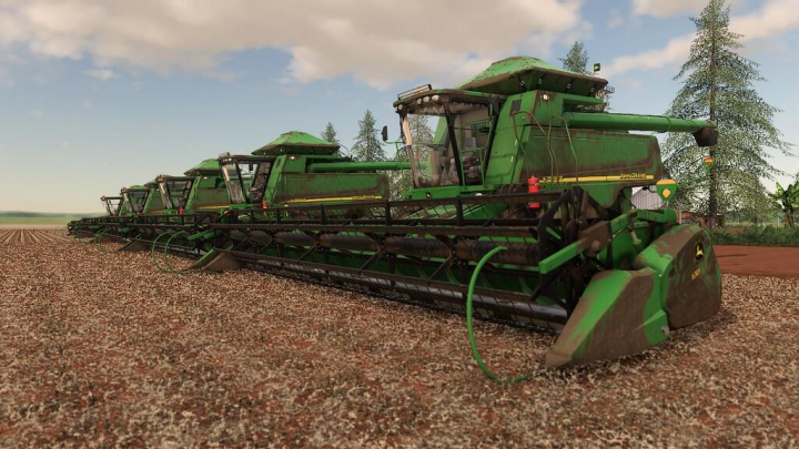 Best mods from the day: JOHN DEERE STS 9750 AND 630F v1.0.0.0.