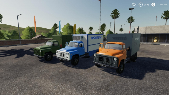Best mods from the day: GAZ-53 Module Pack v3.0.