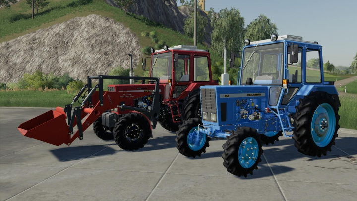 Best mods from the day: MTZ-82 UK v1.0.0.2.