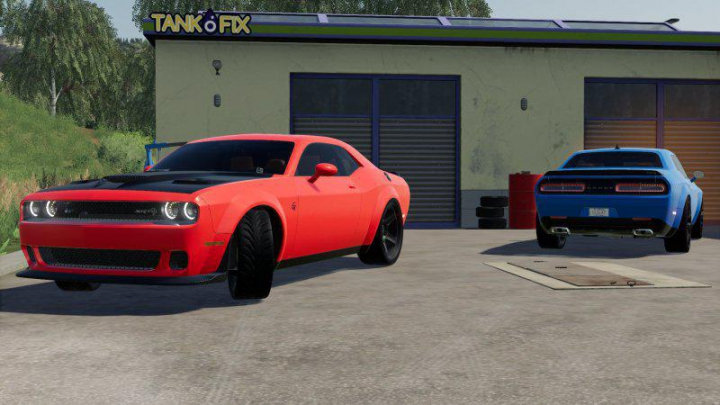 Trending mods today: DODGE CHALLENGER SRT HELLCAT 2018 v2.0