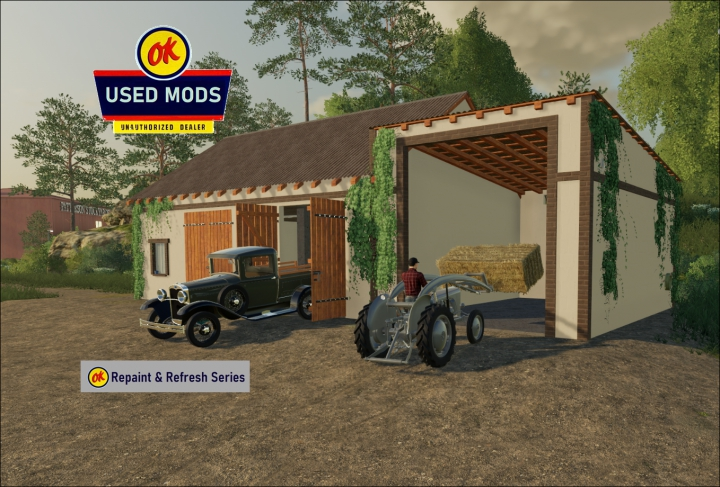 Trending mods today: Cleaned and Recolored Buildings in Polish Style - Edit -  By OKUSEDMODS