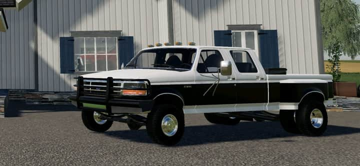 FS19 1997 Ford F350 category: Cars