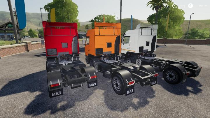 Trucks Maz 5440E9 v1.0.0.0