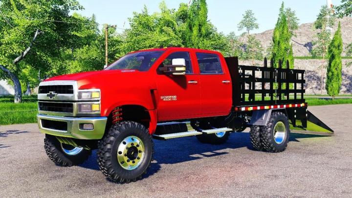 Trucks Chevrolet Silverado 4500 HD Stake Truck v1.0