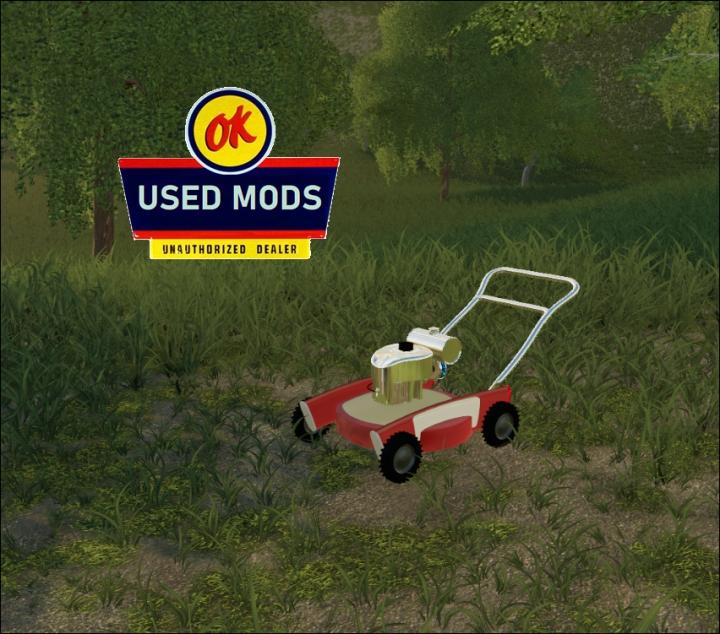 Trending mods today: Retro Push Mower The Atomic V1 -  By OKUSEDMODS