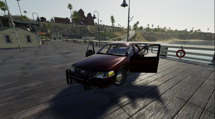 Cars Crown Vic Mountain States v1.0