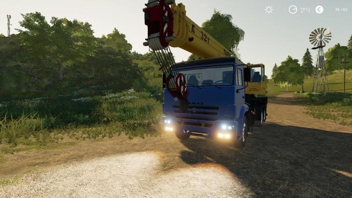 Trucks Kamaz Galichanin v1.0.0.0