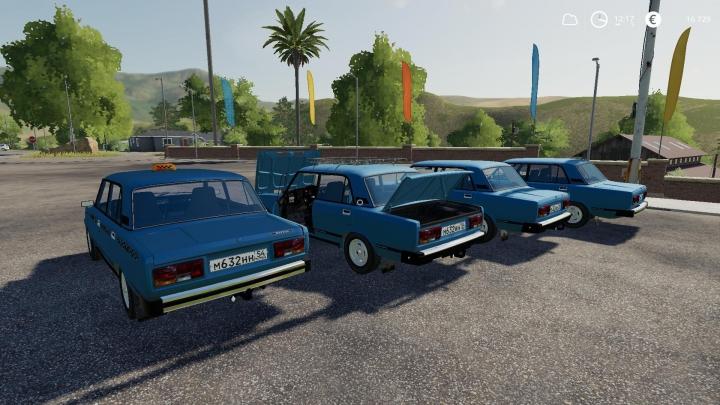 Cars VAZ 2105 v2.0