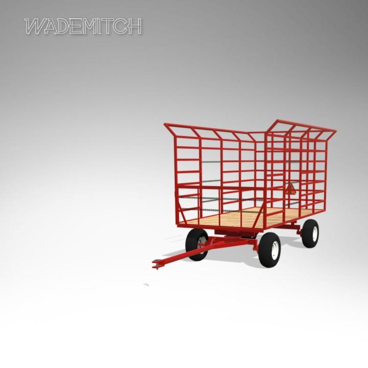 Trending mods today: EZ Trail Bale Wagon