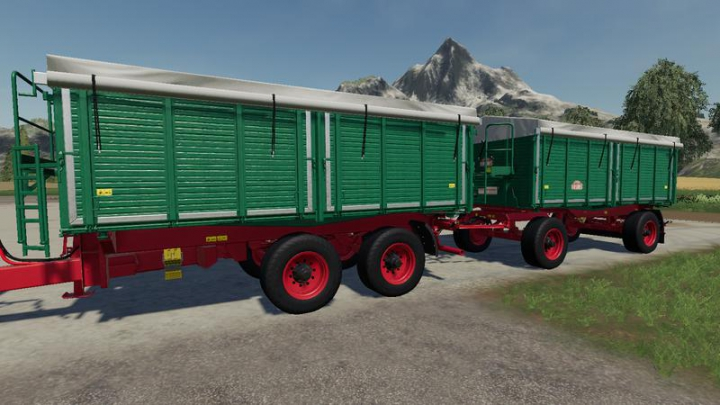 Trending mods today: Tiemann Argroliner Pack v1.0.1.2