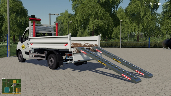 Trending mods today: Renault Benne Sdm With Ramps Support