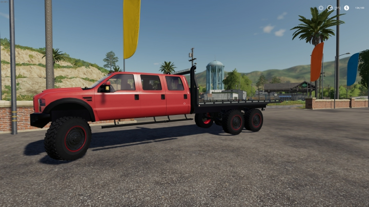 Trending mods today: FS19 Ford SuperSix Rollback 6x6 V1
